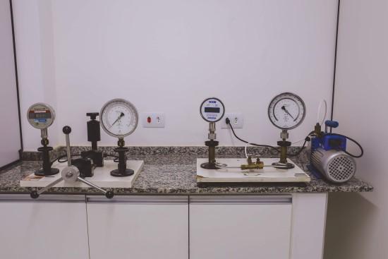 Laboratório de Pressão